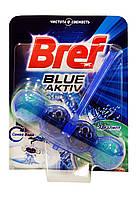 Чистящее средство для унитаза Bref Blue-Aktiv Синяя вода Эвкалипт - 50 г.