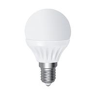 Лампа светодиодная D45 7W Е14 4000К ELECTRUM