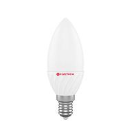 Лампа светодиодная С37 4W Е14 3000К ELECTRUM