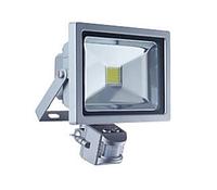 Светодиодный LED прожектор 20 Вт 6500К с датчиком движения