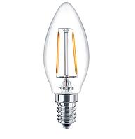 Лампа светодиодная LED Fila 2.3 - 25W E14 WW В35 ND PHILIPS