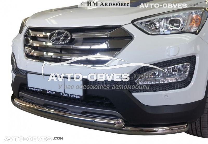 Дуга защитная для Hyundai Santa Fe 2013-2016