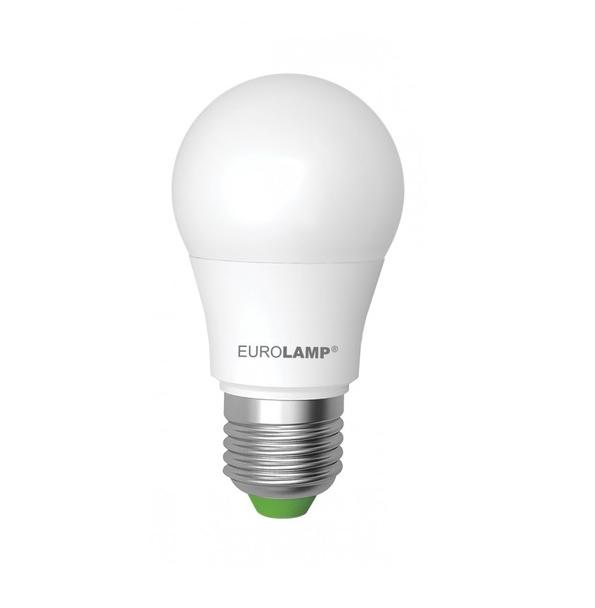 Лампа светодиодная EUROLAMP LED А50 7W E27 3000K 530 Lm