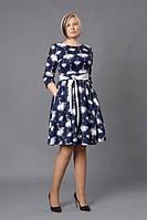 Женское стильное платье Мелани М267-03 (р.48-52) балерины