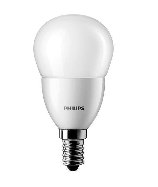 Лампа светодиодная CorePro LEDluster 5,5 - 40W E14 4000К 470 Lm P45 (люстра) PHILIPS
