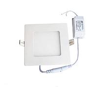 "Светодиодная LED панель 6 Вт ""Квадрат"" 480 Lm 6500К LEDEX, фото 1"