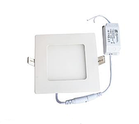 "Светодиодная LED панель 6 Вт ""Квадрат"" 480 Lm 4000К LEDEX, фото 1"