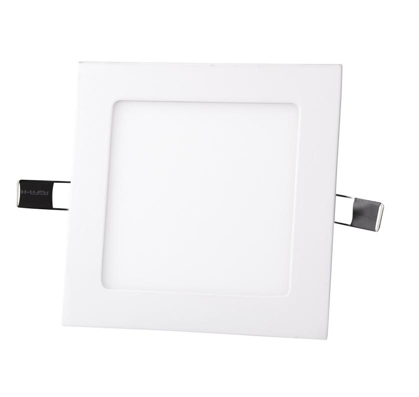 """Светодиодный LED светильник 6Вт """"Квадрат"""" 6400К 420 Lm 120х120mm Евросвет"""