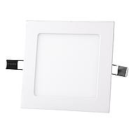 """Светодиодный LED светильник 12Вт """"Квадрат"""" 6400К 840 Lm 170х170 mm Евросвет"""