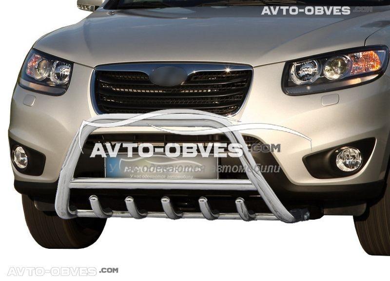 Передняя защита для Hyundai Santa Fe