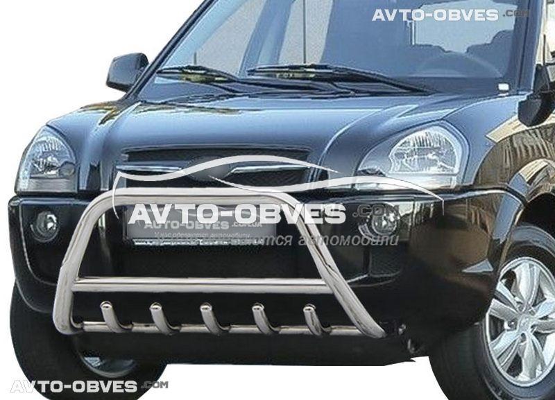 Передняя защита для Hyundai Tucson