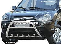 Дуга переднего бампера Hyundai Tucson