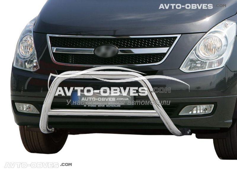 Передній захист для Hyundai H1 2008-2018 вир. код RR006