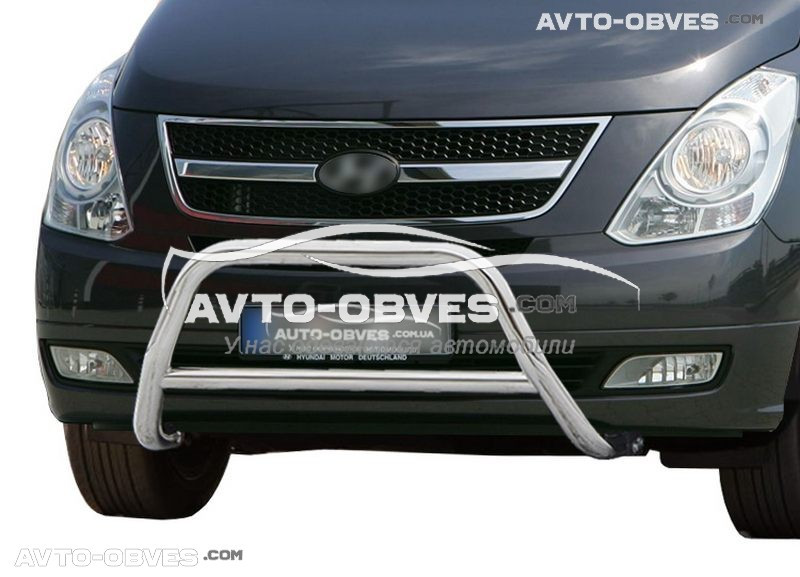 Передняя защита для Hyundai H1 2008-2018 п.к. RR006