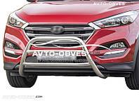Защита бампера Hyundai Tucson 2015-2017