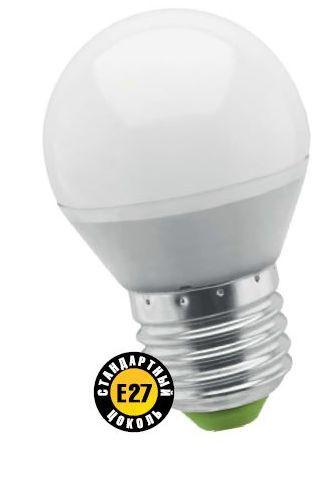 Лампа светодиодная NLL Р G45 5W 2700K 230В E27 NAVIGATOR