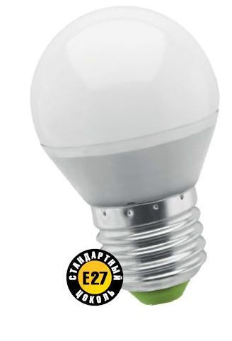 Лампа светодиодная NLL Р G45 5W 4000K 230В E27 NAVIGATOR