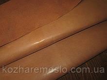 Кожа подкладочная воскованная свинная 0,5 - 0,6 мм нугат