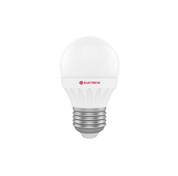 Лампа светодиодная D45 4W Е27 2700К ELECTRUM
