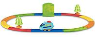 Железная дорога с инерционным паровозиком Tomy (4402)