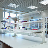 Надстройка сервисная на лабораторный стол, НСП/НСО, Украина, фото 2