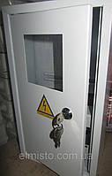 Щит ШМР-1ф-10А-В э+УЗО распределительный металлический под 1ф. электрон. счетчик и 10 авт. выкл. врезной