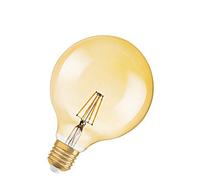 Лампа филаментная Vintage LED Globe 4W 824 FILGD E27 OSRAM светодиодная