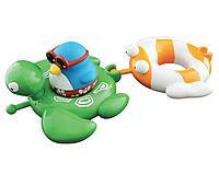 Игрушки для ванны Water Fun Веселые друзья Пингвин, черепаха, рыбка