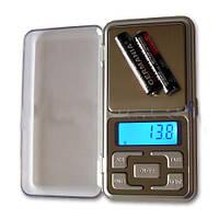 Маленькие электронные весы MH-500, максимальный вес 500 г, точность 0,1г, подсветка, питание 2хААА