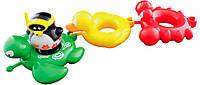 Игрушки для ванны Water Fun Веселые друзья Пингвин, черепаха, утка, краб