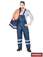 Защитные утепленные брюки с шельками S-WINTER-STR G