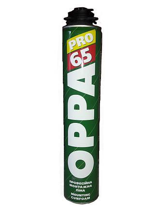 Пена монтажная OPPA 65 PRO, 850ml, фото 2