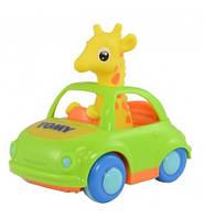 Игрушка Жираф в кабриолете Tomy (T72201)