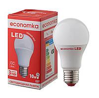 Светодиодная лампа Economka LED А60 10W Е27 2800K, фото 1