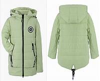 Пальто для девочки демисезонное 128-152