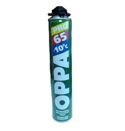 Пена монтажная OPPA 65 PRO Winter, 850ml, фото 2