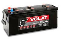 Аккумулятор автомобильный VOLAT -190A +прав (typ B) (1200 пуск)
