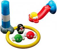 Игрушка для ванны Water Fun Пингвинчик и сумасшедший трамплин