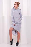 Молодежное платье Sportshik меланж  FashionUp 42-48 размеры