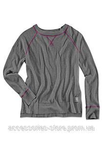 Женский вязаный джемпер BMW Knit Sweater, Ladies, Asphalt Grey Melange