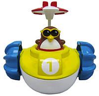 Игрушка для ванны Water Fun Пингвинчик на водном велосипеде