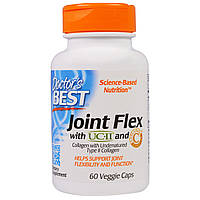 Doctor's Best, Комплекс для гибкости суставов с UC-II и куркумином C3, 60 вегетарианских капсул