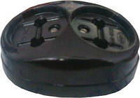 Розетка зовнішньої проводки подвійна 16А 250В Житомир,чорна