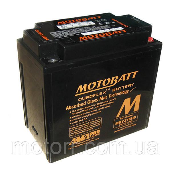 Аккумулятор Motobatt MBYZ16HD