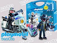 Playmobil 5891 Конструктор - Поліцейський (Возьми с собой: Полицейский и преступник   5891, Плеймобил, Police)