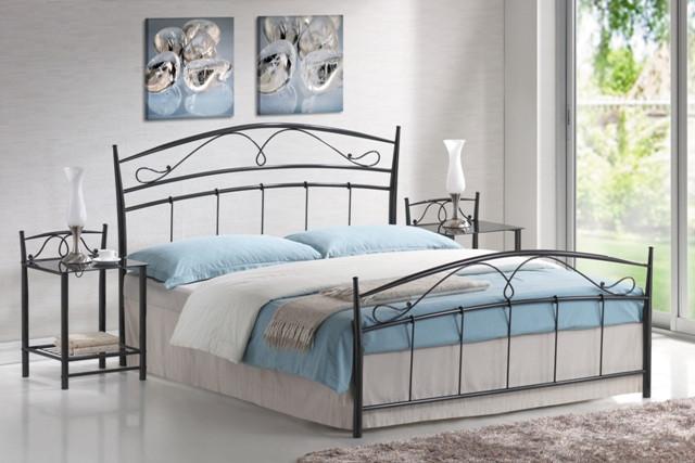 Кровать Siena черная 160*200 (Signal TM) - АБВ мебель в Днепре