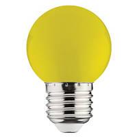 Лампа LED  1W E27 жовта