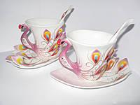 Сервиз чайный для 2-х персон (6 предм.) различных цветов