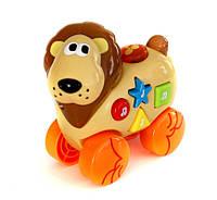 Музыкальная игрушка Дружелюбные животные Лев со звуковыми эффектами Navystar (65039-E-2)
