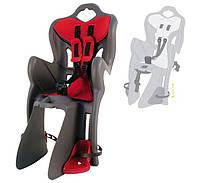 Сиденье для детей Bellelli B1 Clamp, на багажник, серое